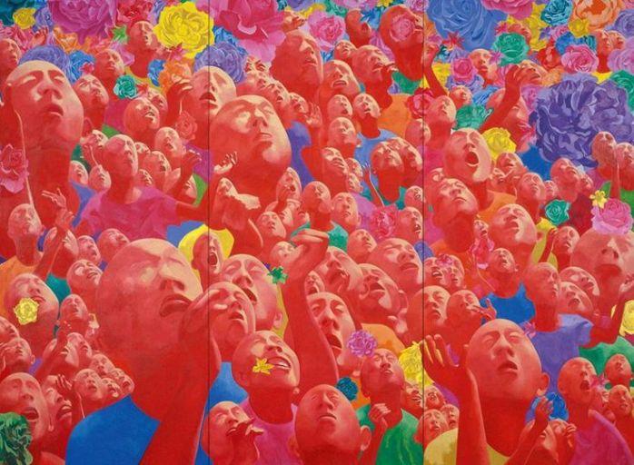 0ebc250c0d45dda5908ad742d1c66e7b--fang-lijun-chinese-art