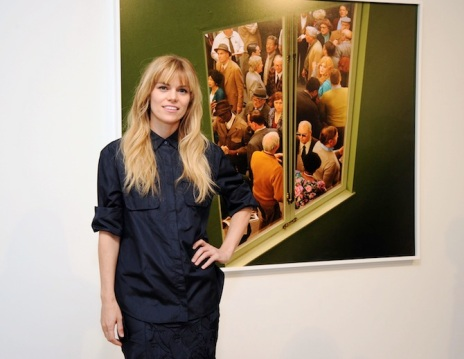 "attends Alex Prager's ""Face In The Crowd"" exhibition viewing at Lehmann Maupin Gallery on January 9, 2014 in New York City."