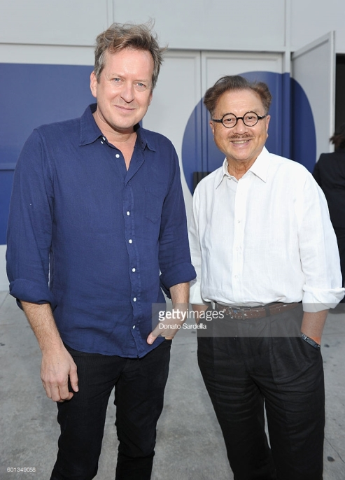"attends MOCA's Leadership Circle And Members' Opening For ""Doug Aitken: Electric Earth"" at The Geffen Contemporary at MOCA on September 9, 2016 in Los Angeles, California."