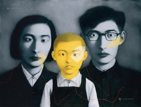 zhang-xiaogang-血缘——大家庭·全家福