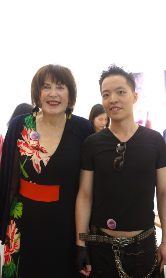 Michael Andrew Law Cheuk Yui meet Marilyn Minter 1 IMG_3722 post